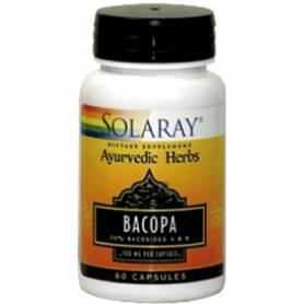 BACOPA 100mg 60cap SOLARAY Plantas Medicinales 14,43€