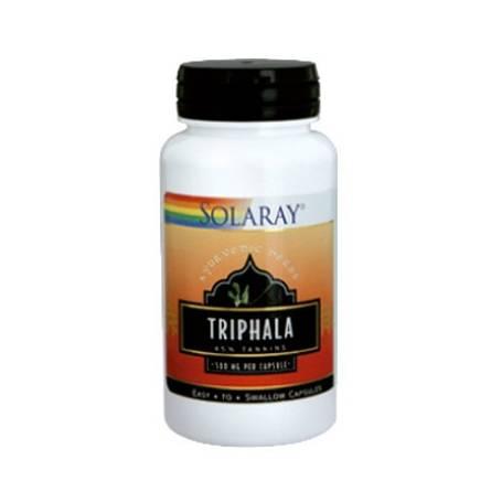 TRIPHALA 500mg 60cap SOLARAY Plantas Medicinales 26,05€
