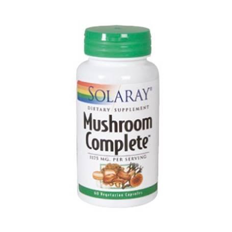 MUSHROOM COMPLETE 60cap SOLARAY Suplementos nutricionales 22,04€