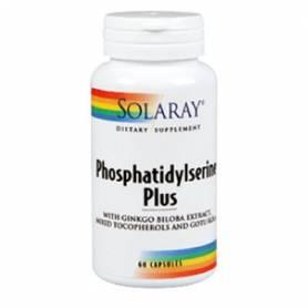 FOSFATIDILSERINA PLUS 60cap SOLARAY Suplementos nutricionales 42,75€