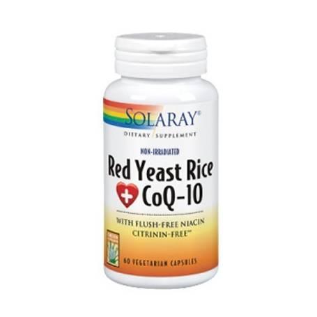 RED YEAST RICE PLUS CoQ10 60cap SOLARAY Suplementos nutricionales 33,40€