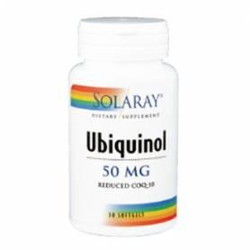 UBIQUINOL CoQ10 50mg 30cap SOLARAY