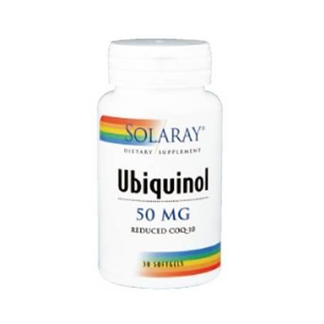 UBIQUINOL CoQ10 50mg 30cap SOLARAY Suplementos nutricionales 35,07€
