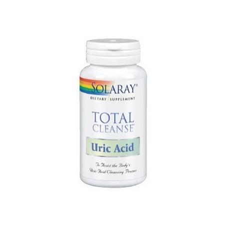 TOTAL CLEANSE URIC ACID 60cap SOLARAY Suplementos nutricionales 34,73€