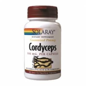 CORDYCEPS 500mg 60cap SOLARAY Suplementos nutricionales 25,38€
