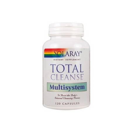 TOTAL CLEANSE MULTISYSTEM 120cap SOLARAY Suplementos nutricionales 26,05€