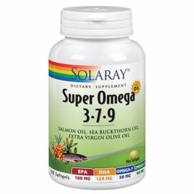 SUPER OMEGA 3-7-9 120perl SOLARAY Suplementos nutricionales 32,73€