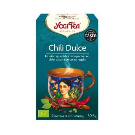 CHILI DULCE Infusión BIO 17ud YOGI TEA Plantas Medicinales 3,33€