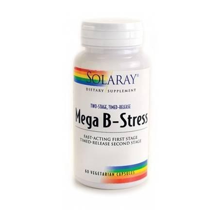 MEGA B-STRESS 60cap SOLARAY Suplementos nutricionales 12,02€