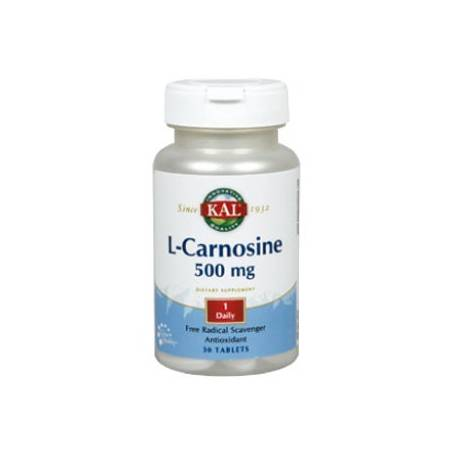 L-CARNOSINA 500mg 30cap KAL Plantas Medicinales 25,38€