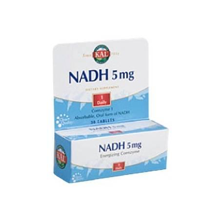NADH 5mg 30comp KAL Suplementos nutricionales 28,05€