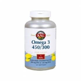 OMEGA 3 450/300 60perl KAL Suplementos nutricionales 22,71 €