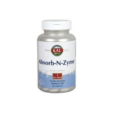 ABSORB-N-ZYME 90comp KAL Suplementos nutricionales 21,37€