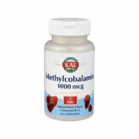 METHYLCOBALAMINA 1000mcg 60comp KAL Suplementos nutricionales 16,70€