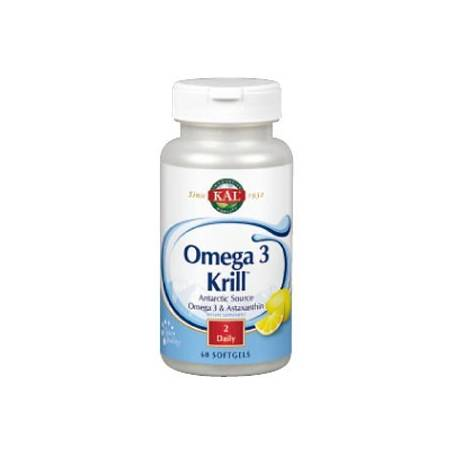 OMEGA 3 / KRILL 500mg 60perl KAL Suplementos nutricionales 35,40 €