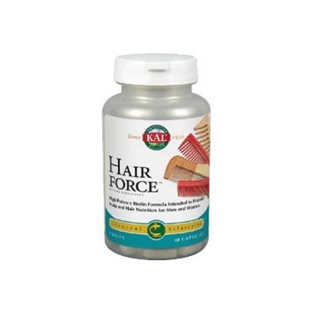 FORCE HAIR 60cap KAL Suplementos nutricionales 26,05€