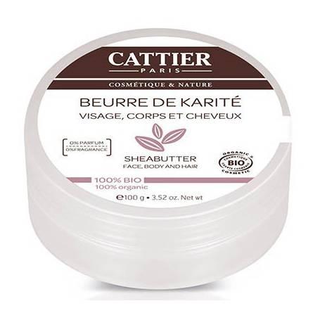 MANTECA DE KARITE 100g CATTIER Cosmética e higiene natural 11,68€