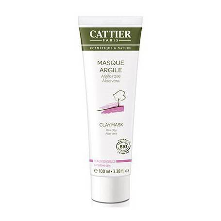 MASCARILLA FACIAL ARCILLA ROSA PIEL SENSIBLE 100ml CATTIER Cosmética e higiene natural 5,07 €