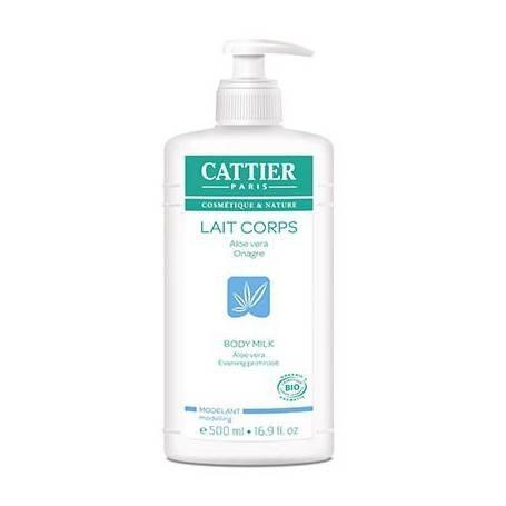 LECHE CORPORAL MODELADORA 500ml CATTIER Cosmética e higiene natural 13,89€