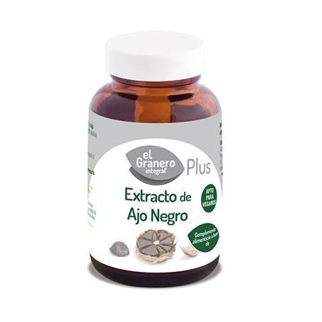 EXTRACTO DE AJO NEGRO PLUS 400mg 90comp EL GRANERO INTEGRAL Plantas Medicinales 9,46€