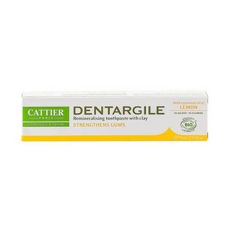 DENTIFRICO DENTARGILE CON LIMON ENCIAS IRRITADAS 75ml CATTIER Cosmética e higiene natural 5,66€