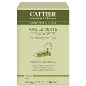 ARCILLA VERDE GRANULADA USO EXTERNO 3kg CATTIER Cosmética e higiene natural 12,91€