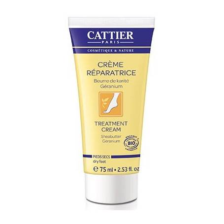 CREMA REPARADORA PIES SECOS 75ml CATTIER Cosmética e higiene natural 9,48 €