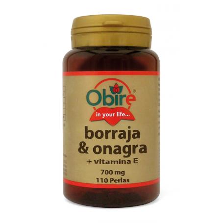 ONAGRA BORRAJA 110perl OBIRE Plantas Medicinales 10,53€