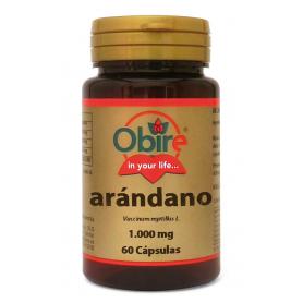 ARANDANO NEGRO 1000MG 60cap OBIRE Plantas Medicinales 5,31€