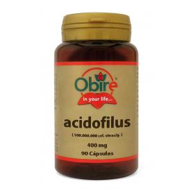 ACIDOPHILUS 400MG 90cap OBIRE Suplementos nutricionales 7,13€