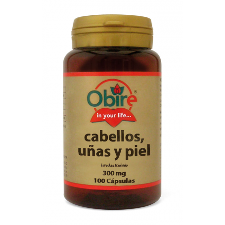 PELO UÑAS 100cap OBIRE Plantas Medicinales 5,00€
