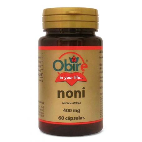 NONI 400MG 60cap OBIRE Plantas Medicinales 5,70€