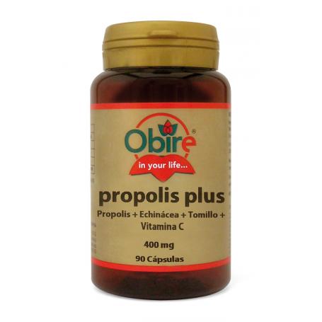 PROPOLIS PLUS 90cap OBIRE Suplementos nutricionales 7,41€
