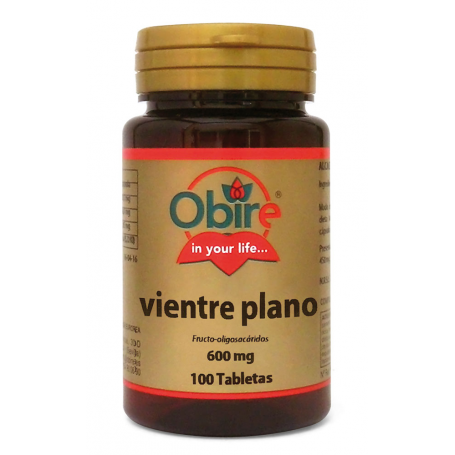 VIENTRE PLANO 600MG 100comp OBIRE Suplementos nutricionales 4,29€