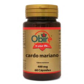 CARDO MARIANO 400MG 60cap OBIRE Plantas Medicinales 4,38€
