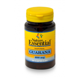 GUARANA 600gm 50cap NATURE ESSENTIAL