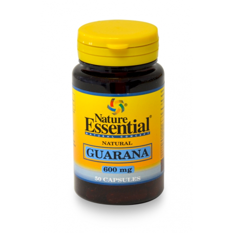 GUARANA 600gm 50cap NATURE ESSENTIAL Plantas Medicinales 4,49 €