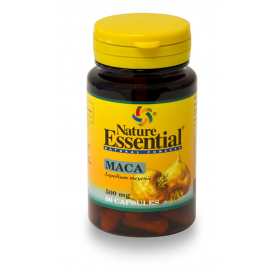 MACA 500mg 50cap NATURE ESSENTIAL Plantas Medicinales 7,55€