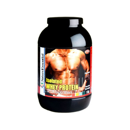 WHEY PROTEIN 90% ISOLATE FRESA 1kg NATURE ESSENTIAL Nutrición Deportiva 36,54€