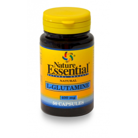 GLUTAMINA 400mg 50cap NATURE ESSENTIAL L Glutamina 4,84 €