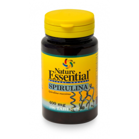 ESPIRULINA 400mg 100comp NATURE ESSENTIAL