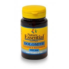 DOLOMITA 600mg 150comp NATURE ESSENTIAL Suplementos nutricionales 5,28€
