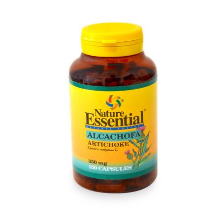 ALCACHOFA 350mg 150cap NATURE ESSENTIAL Plantas Medicinales 8,62€