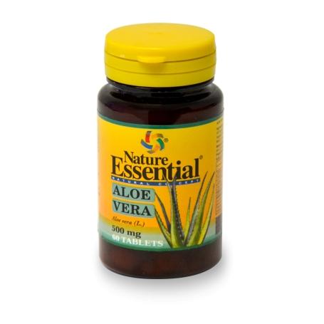 ALOE VERA 500mg 60comp NATURE ESSENTIAL Plantas Medicinales 4,84€