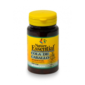 COLA DE CABALLO 500mg 60comp NATURE ESSENTIAL Plantas Medicinales 3,38 €