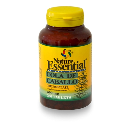 COLA DE CABALLO 500mg 250comp NATURE ESSENTIAL Plantas Medicinales 9,51 €