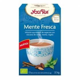 MENTE FRESCA Infusión BIO 17ud YOGI TEA Plantas Medicinales 3,33€