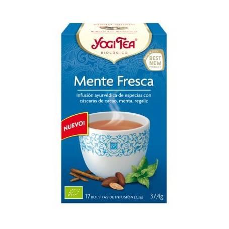 MENTE FRESCA Infusión BIO 17ud YOGI TEA Plantas Medicinales 3,35€