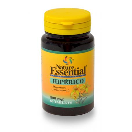 HIPERICO 500mg 60comp NATURE ESSENTIAL Plantas Medicinales 3,38€