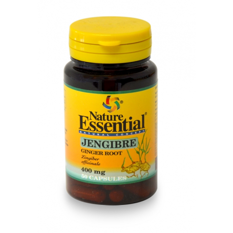 JENGIBRE 400mg 50cap NATURE ESSENTIAL Plantas Medicinales 4,14€